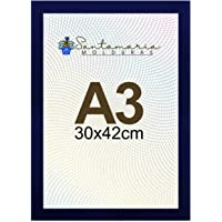 Moldura Porta Retrato A3 30x42 Azul