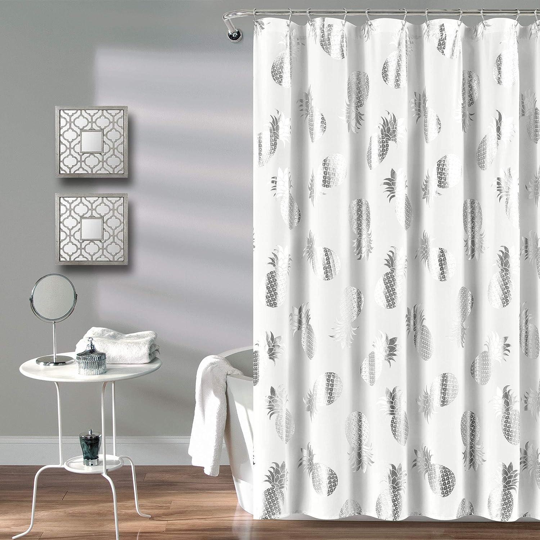 "70x72/"" Multi Saturday Knight Ltd Floating About PEVA Fun Bath Shower Curtain"