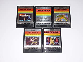 Atari 2600 video game LOT of 5 ATARI 2600 IMAGIC cartridges (games)