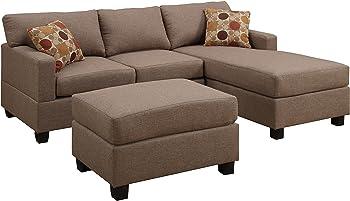 Esofastore Reversible Sectional Sofa Set
