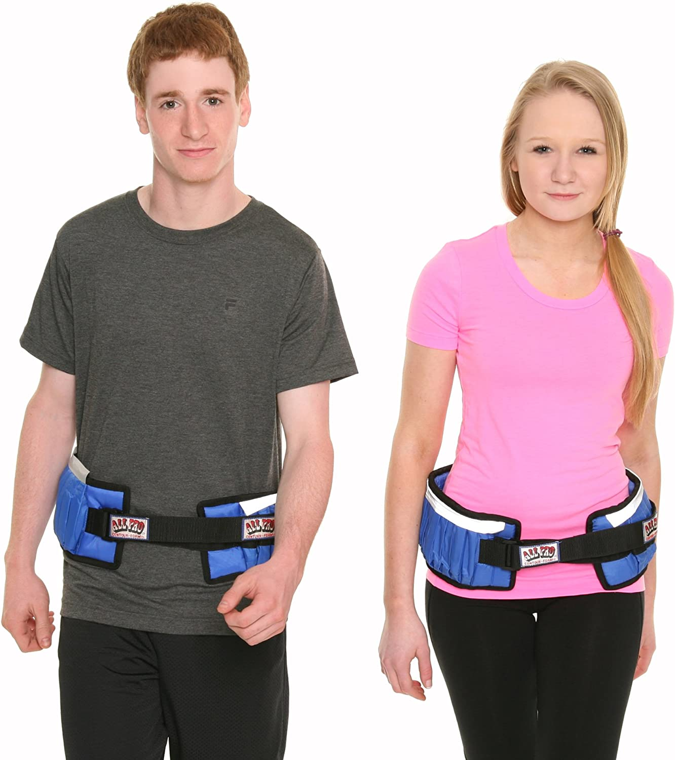 All Pro Weight Adjustable Power Stride Exercise Belt, 10-Pound
