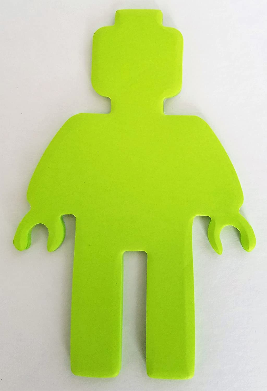 Pixel Miner Figure Green Sticky Notepad Favors 12 Pack Lifetime Lifetime Inc