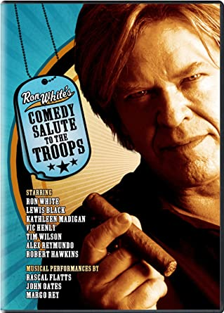 Ron Whites Comedy Salute to the Troops Reino Unido DVD ...