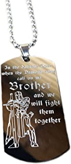 Real Bullet Design DOG-TAGIn the darkest hour when the demons come, call on me Brother and we will fight them together
