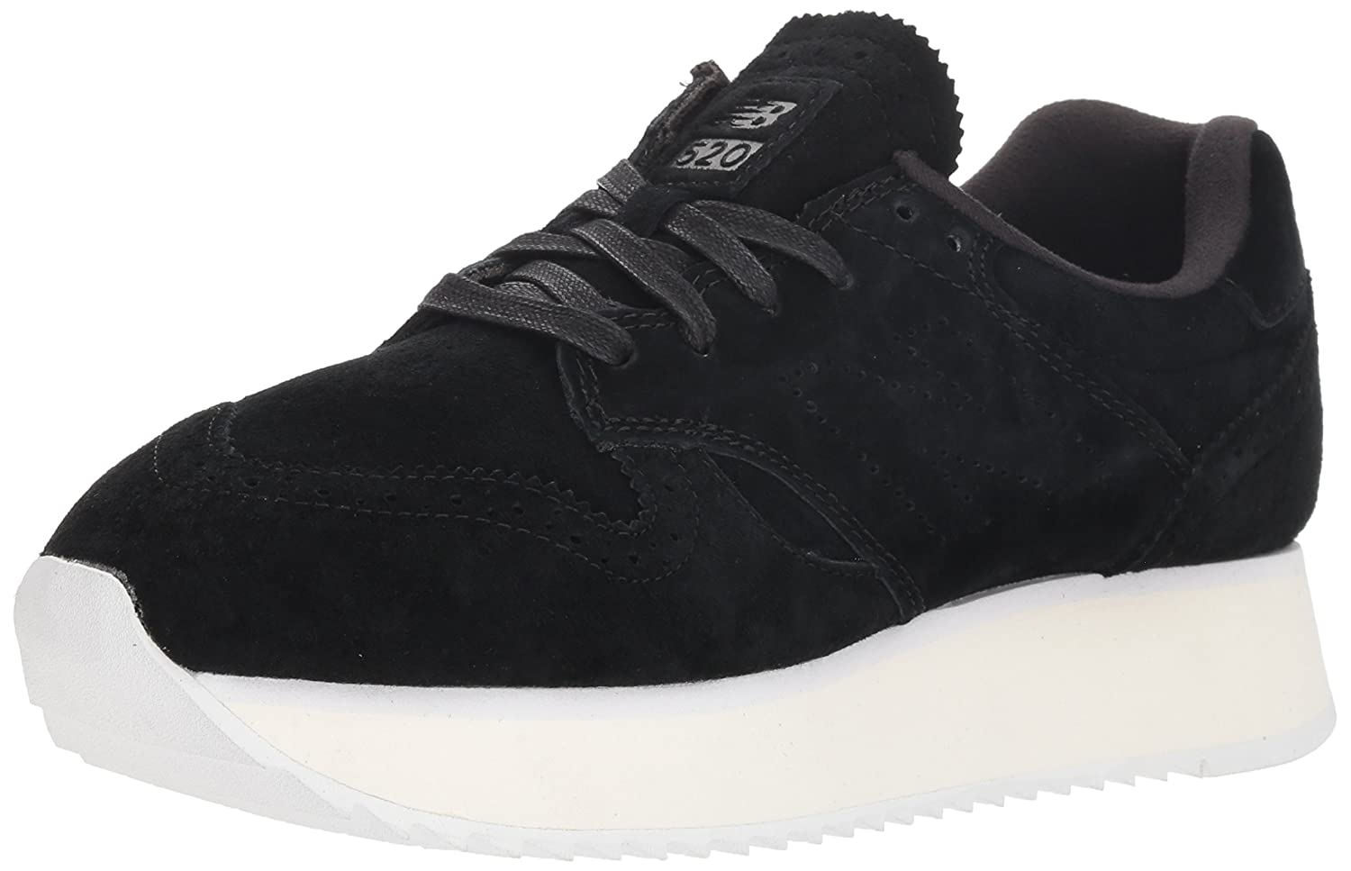 New Balance Women's 520v1 Sneaker B0771C4R1Y 8 B(M) US|Black