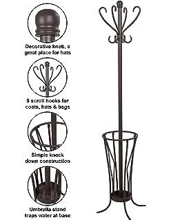 Amazon.com: Winsome Memphis - Perchero para árbol y paraguas ...