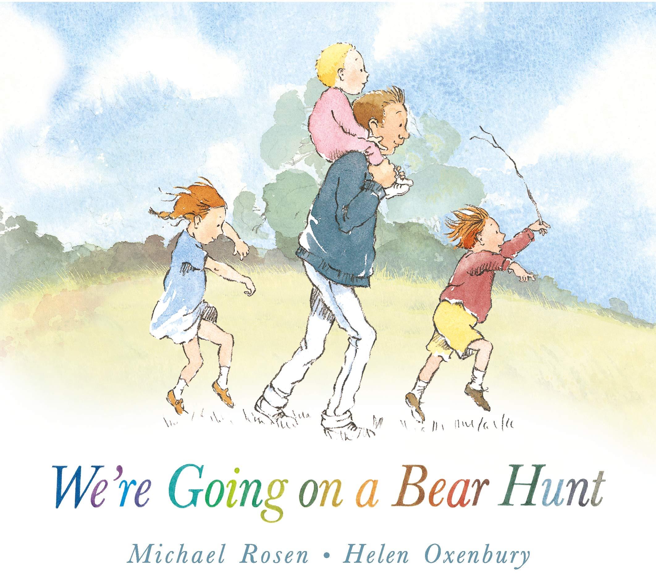 We're Going on a Bear Hunt: 1 : Rosen, Michael, Oxenbury, Helen:  Amazon.co.uk: Books