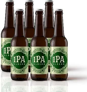 Six Pack | Cerveza Artesana IPA 5,2% Alc. 6 unidades. Cervezas Albero: Amazon.es: Alimentación y bebidas