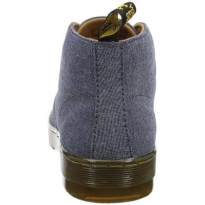 3e0df84f74e6 Martens mens mayport chambray twill true navy lace up casual boots size jpg  420x420 Mayport chambray
