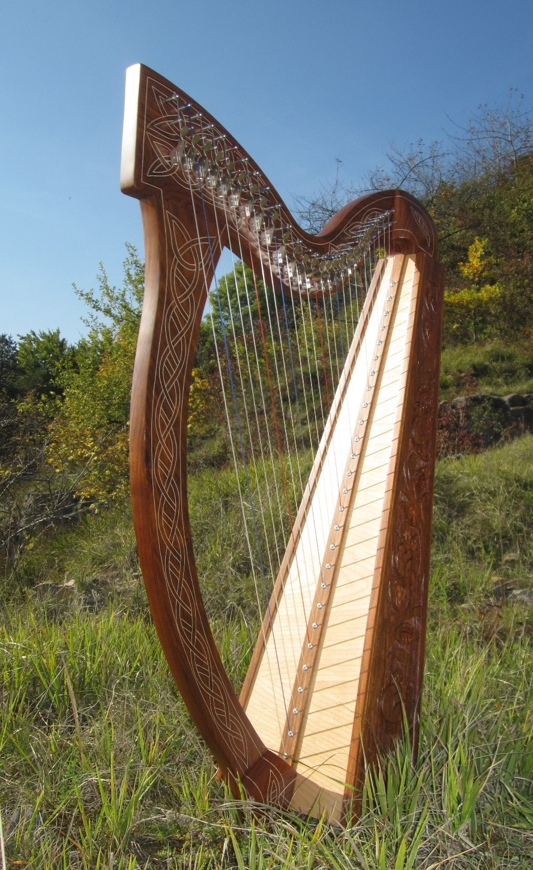 Angelsworld - Arpa celta (27 cuerdas) Incluye bolsa blanda Mid East