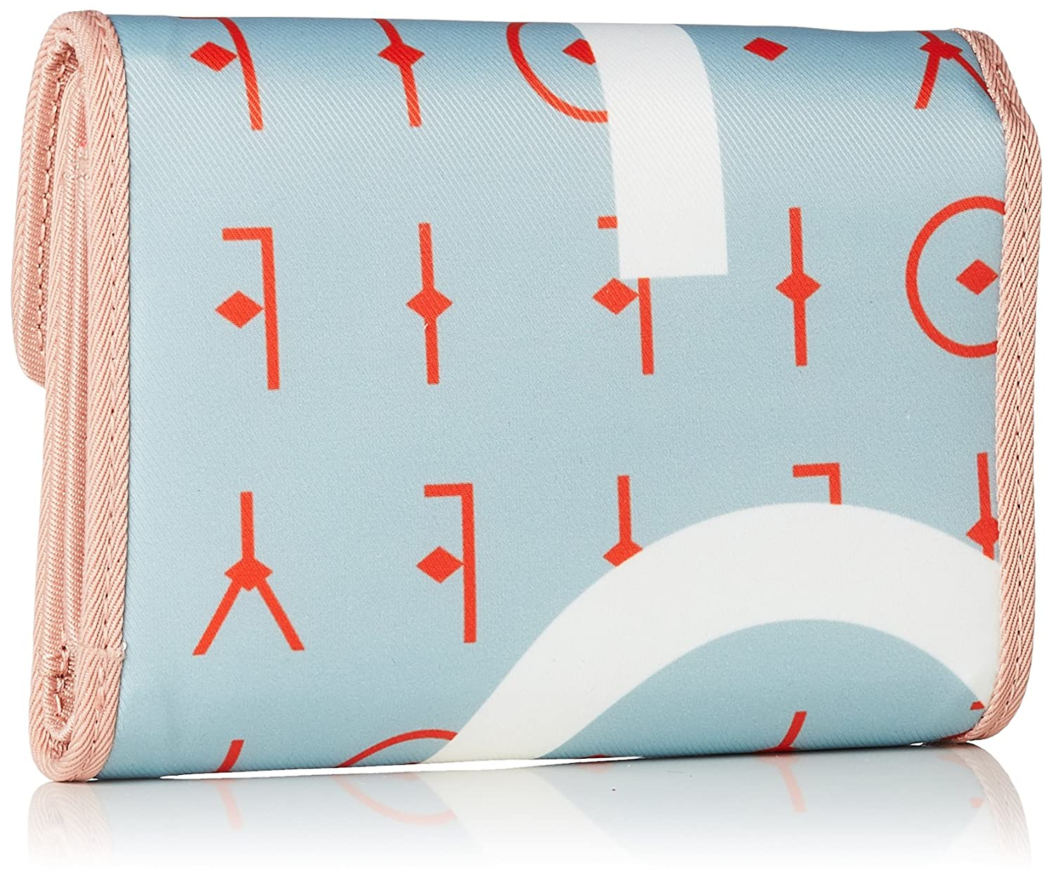 Groovy Letters Purse Mh10f, Womens Wallet, Blue (Light Blue), 1x10x14 cm (B x H T) Oilily