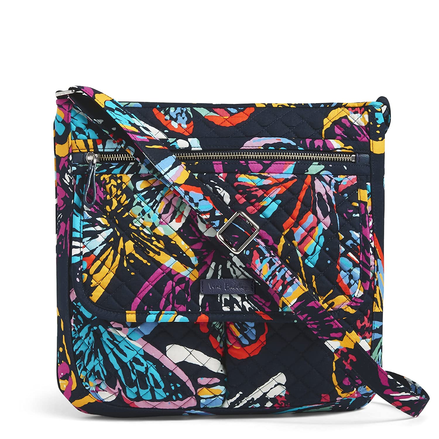 Vera Bradley Iconic Mailbag, Signature Cotton Butterfly Flutter 22169-I81