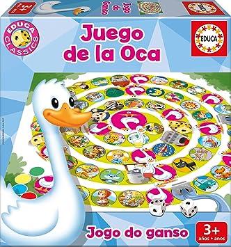 Educa Borrás - El Juego de la Oca, Juego de Mesa (17211): Amazon.es: Juguetes y juegos