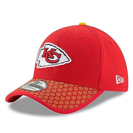 super popular 8e0c4 73205 New Era 39Thirty Cap - NFL 2017 SIDELINE Kansas City Chiefs - S M