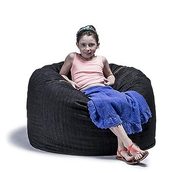 Jaxx Denim Classic Saxx 3ft Bean Bag Chair