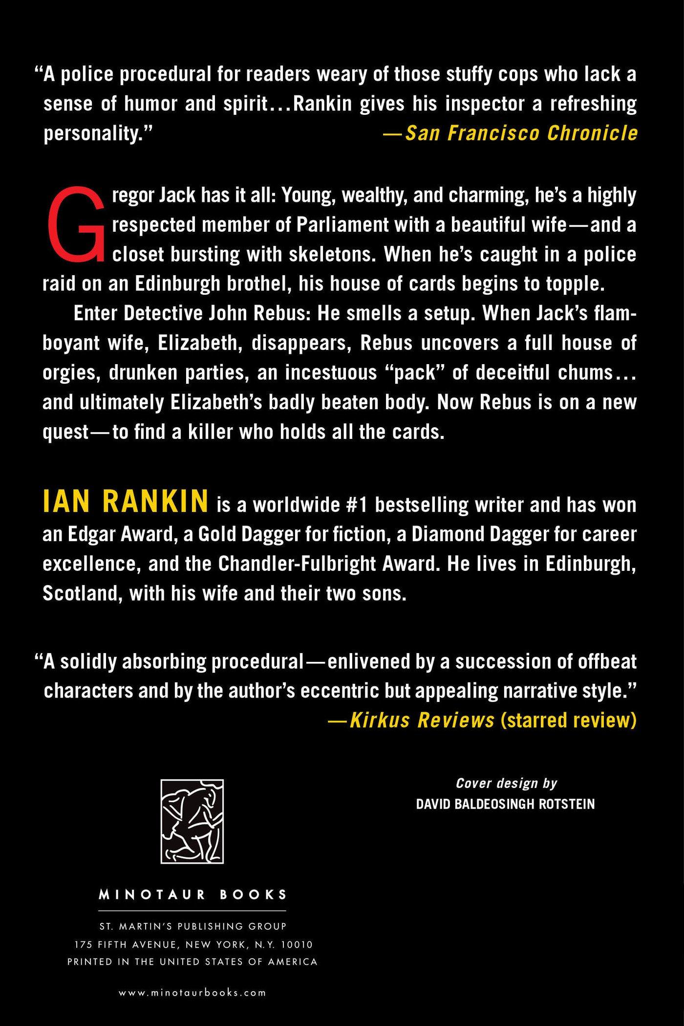 Strip Jack (inspector Rebus, No 4) (inspector Rebus Novels): Ian Rankin:  9780312545239: Amazon: Books