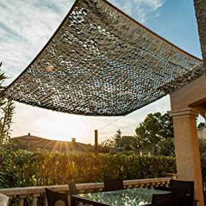WerkaPro 11095 Openwork Shade Canvas 120 g/m2 Rectangular Polyester 2 x 3 m Taupe for Balcony, Terrace and Garden