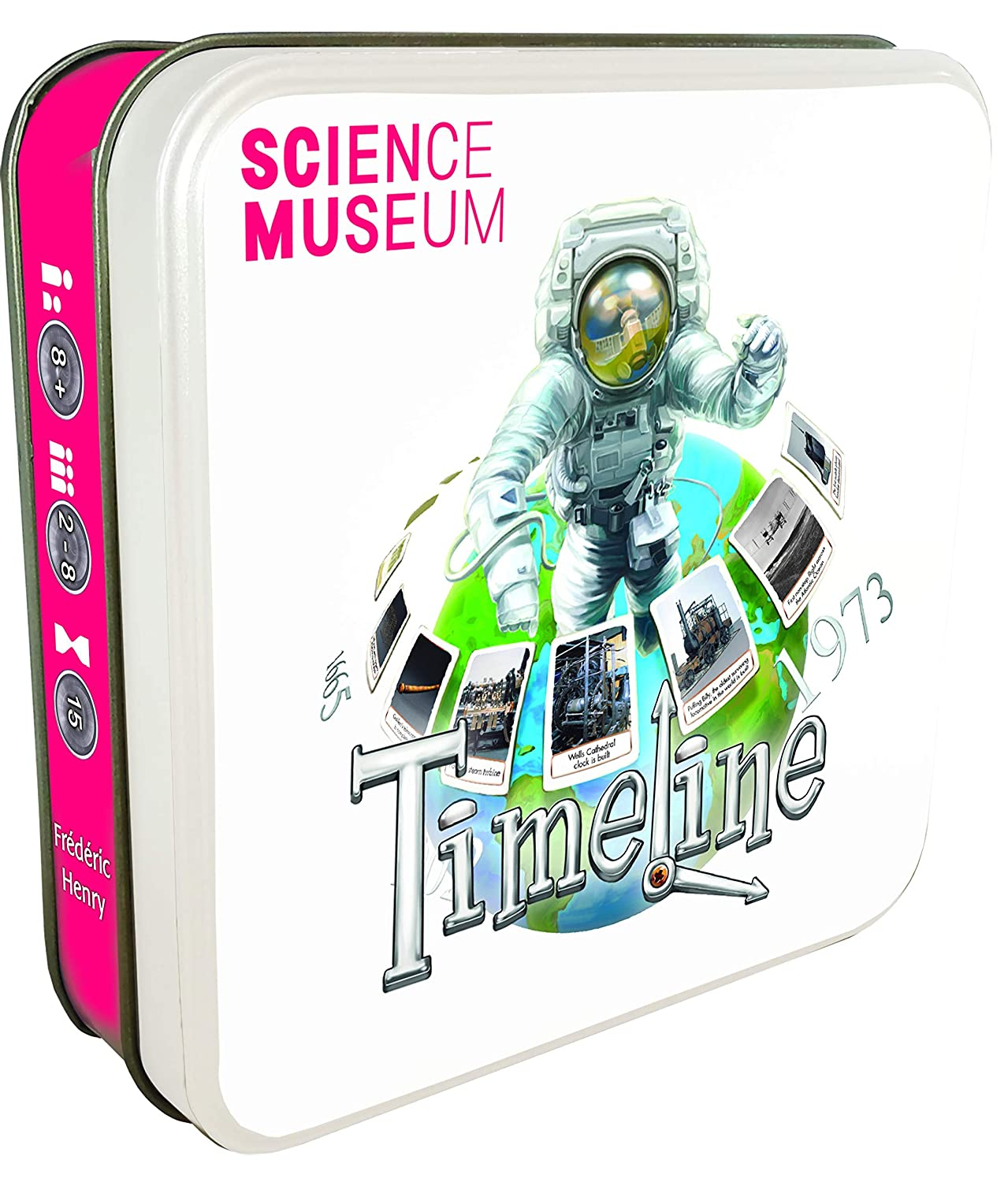 Timeline Science Museum Asmodee Editions Asmcarchsmuk