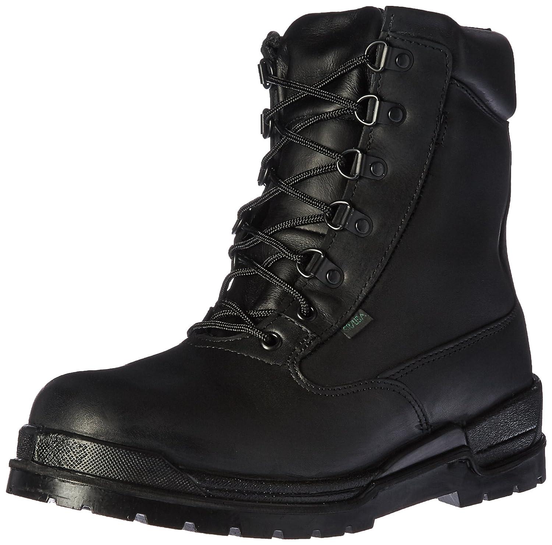 ロッキーMen 's 6 Inch Postal 8132 – 1 Slip Resistant Work Boot B0019FOASS 11.5 2E US|ブラック ブラック 11.5 2E US