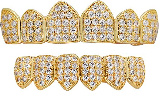 Amazon.com: iRockBling Bling Hip Hop Iced Style Yellow or