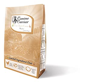 Canine Caviar Free Spirit Limited Ingredient Alkaline Holistic Dog Food