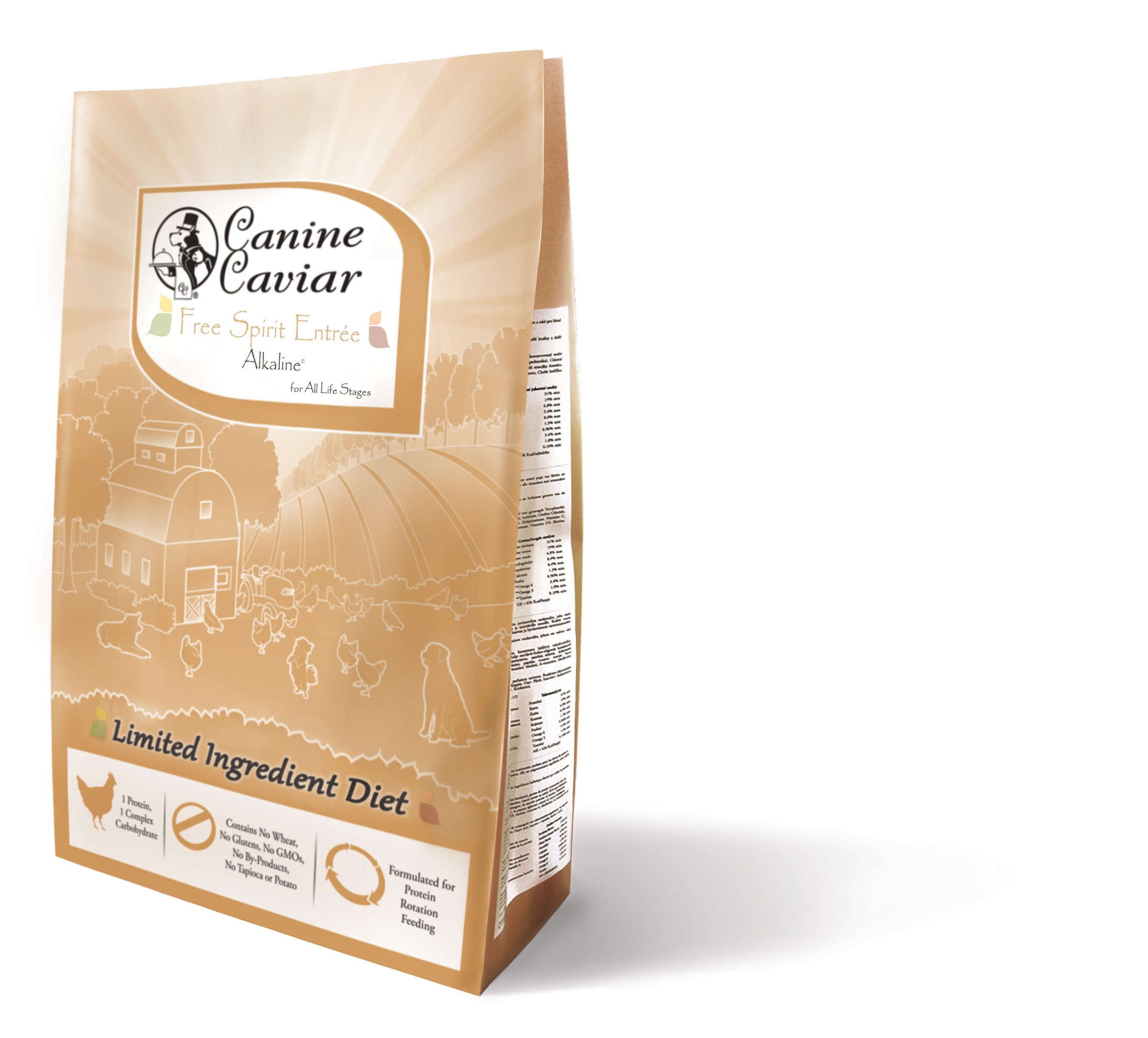 Canine Caviar Dry All Holistic Grain-Free Chicken/Millet, 11 lb