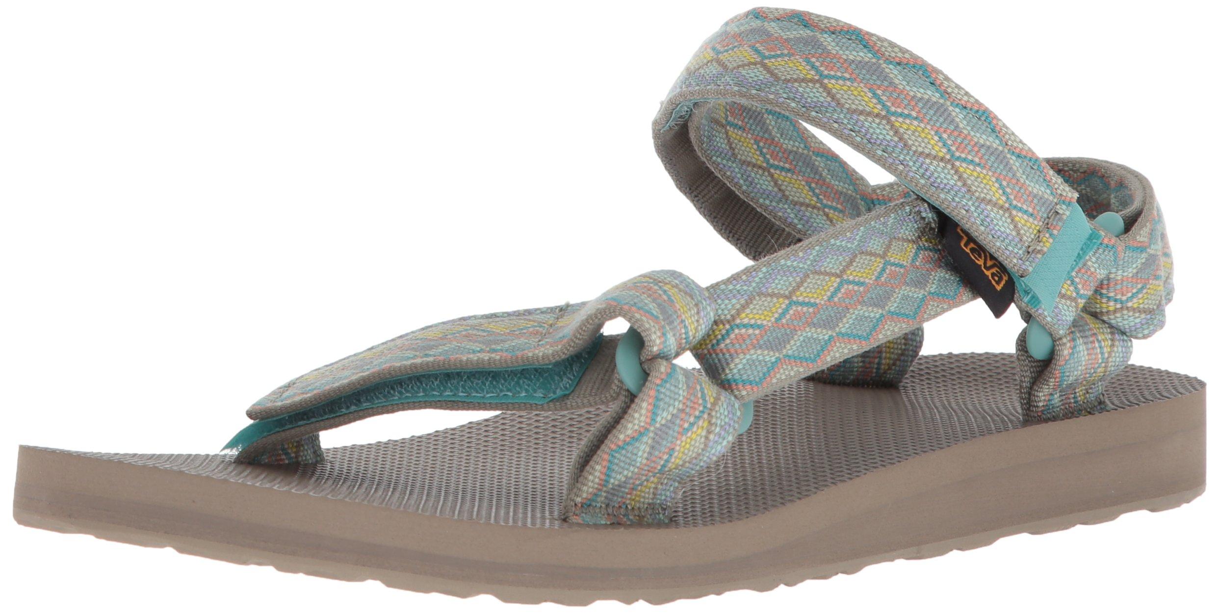 Teva Women's W Original Universal Sport Sandal, Miramar Fade Sage Multi, 7 M US