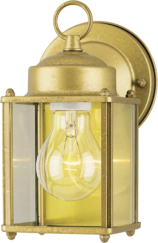White Finish on Steel w... Westinghouse 6697100 One-Light Exterior Wall Lantern