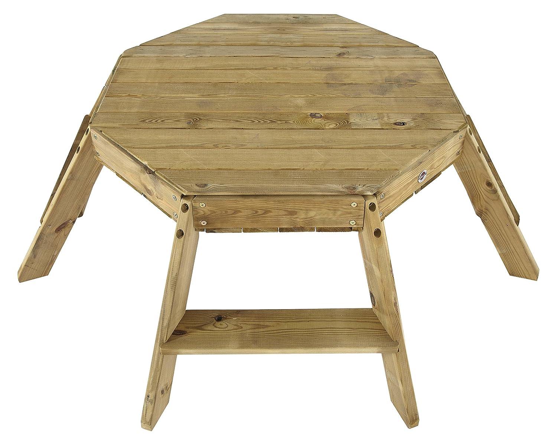 Plum  Oktagon Spieltisch aus Holz B00BCXBGLG Bau- & Konstruktionsspielzeug Elegante und stabile Verpackung | Qualität Produkte