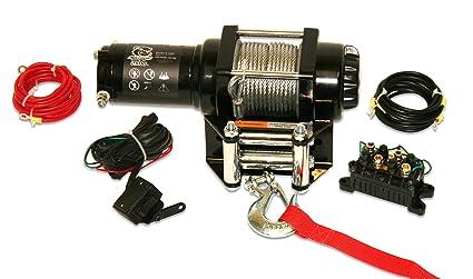 acdb6c40fadf7 Amazon.com: Bulldog Winch 15006 Winch (2500lb ATV with 50 ft. Wire ...