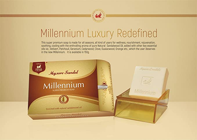 Mysore Sandal Millennium Soap (150g)