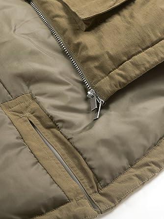 aparso Damen Parka Übergang Mantel Jacke lang warm leicht wattiert gefüttert mit Kapuze