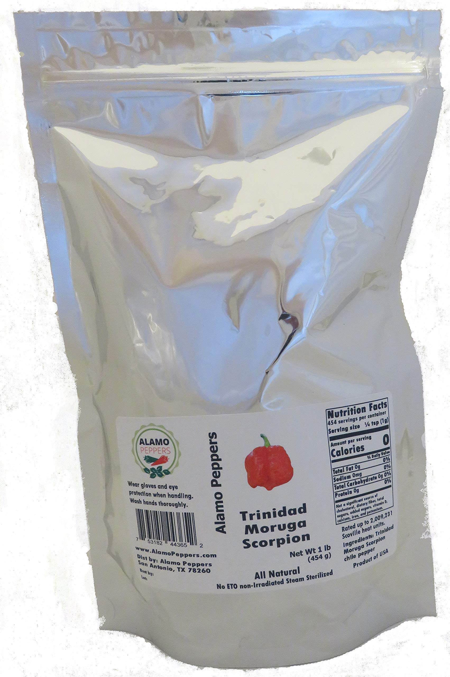 Alamo Peppers Trinidad Moruga Scorpion Powder 1 Pound (lb)