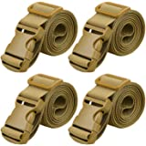 """MAGARROW 65"""" × 1.5"""" Utility Straps with Buckle Adjustable, 4-Pack"""