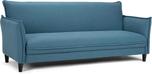 Simpli Home Clarke Contemporary 81 inch Wide Sofa Bed