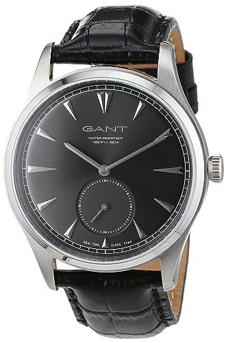 GANT Reloj analógico para Hombre de Cuarzo con Correa en Piel W71002: Amazon.es: Relojes