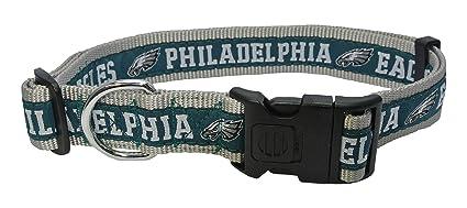 3d1167f4f0b Amazon.com : Pets First NFL Philadelphia Eagles Dog Collar, X-Large ...