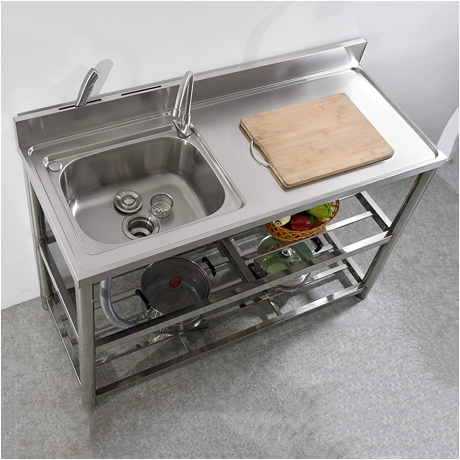 outdoor sink caddy 304 stainless steel