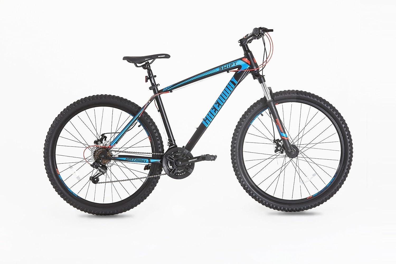Mountainbike-Rahmen und -Gabel aus Stahl, Federung vorne, Gr&ouml ...