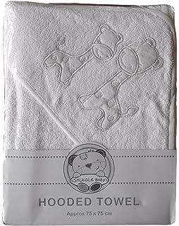 006820b8f Baby Boys Girls Cute White Giraffes Hooded Bath Towel (Approx size 75 x  75cm)