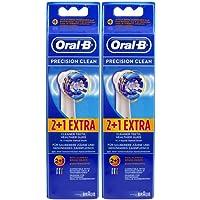 Braun Oral-B Precision Clean - Pack de 6 cabezales de recambio para cepillo de dientes recargable