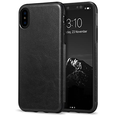 coque apple iphone xs cuir