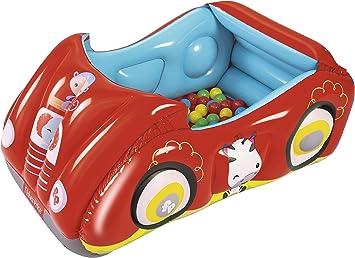 Piscina de bolas infantil Bestway coche de carreras: Amazon.es ...