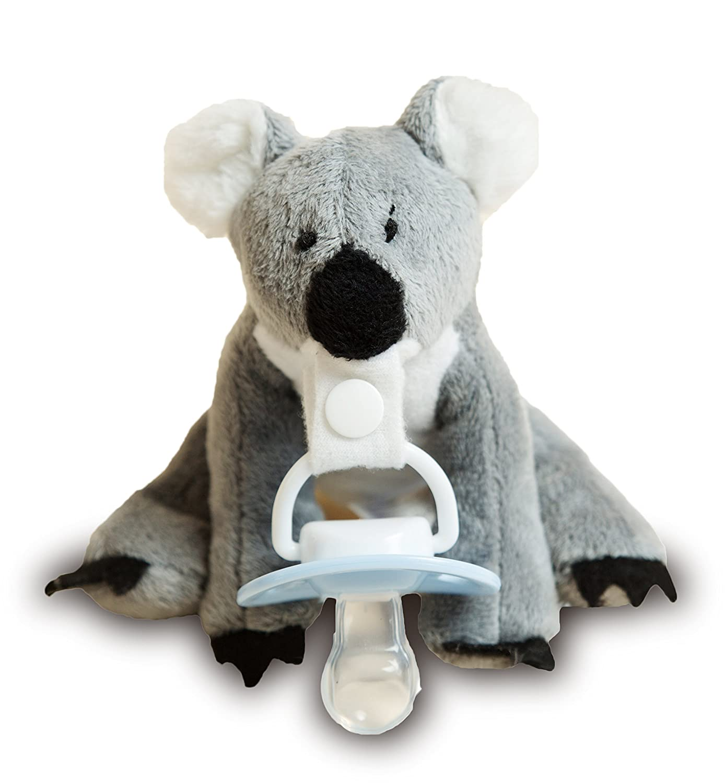 Peluche Chupete Holder por * Karrie el Koala * - Fuerte pinza desmontable chupete / soothie - Cambiar chupetes para limpiar., Mimoso, amigo de los animales ...