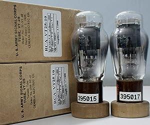 1MP VT25 10 RCA NOS Nib Radiotron Tube Made in U.S.A Amplitrex Tested #395015&7