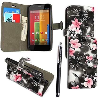 Vodafone Smart Turbo 7 VFD500 Case, Kamal Star PU Leather Magnetic Flip Vodafone Smart Turbo