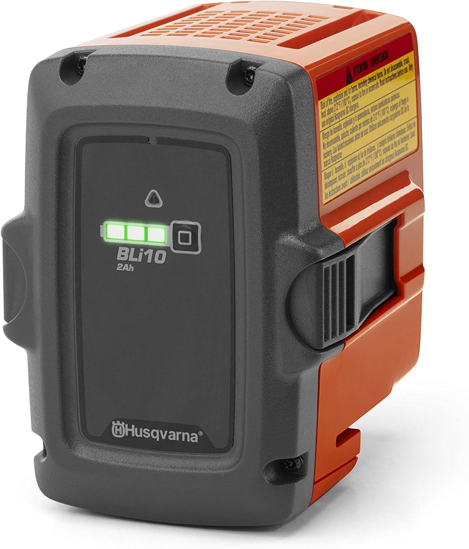 Gris 1 pi/èce Orange s Li-ION Husqvarna BLi10 Lithium-ION 2100mAh 36V Batterie Rechargeable 36 V Batteries Rechargeables 2100 mAh, Lithium-ION