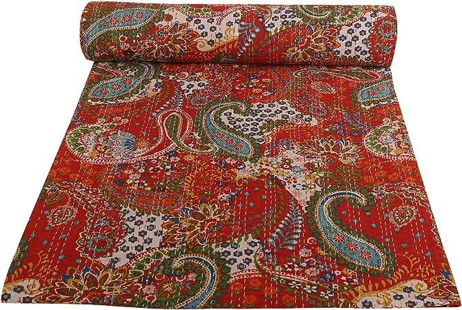 Couverture Style Cachemire