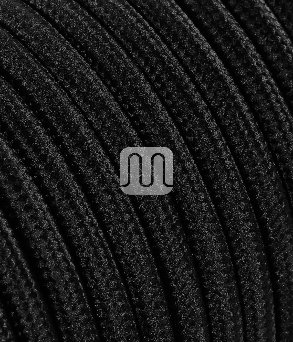 C/âble dalimentation avec prise et interrupteur 2/fils Rosa 2/x/0,75/mm/² C/âble textile avec douille/E27 1,8 Meter Glattmantel prise et interrupteur