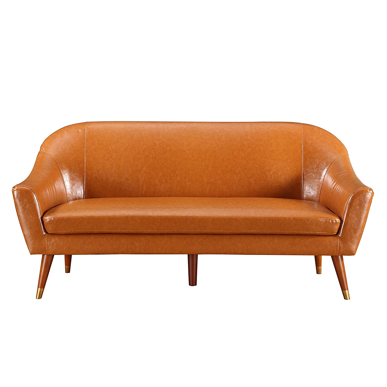 Amazon Divano Roma Furniture Mid Century Modern Sofa